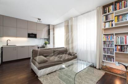 1 bedroom, Prague 3, Žižkov, street: Žerotínova